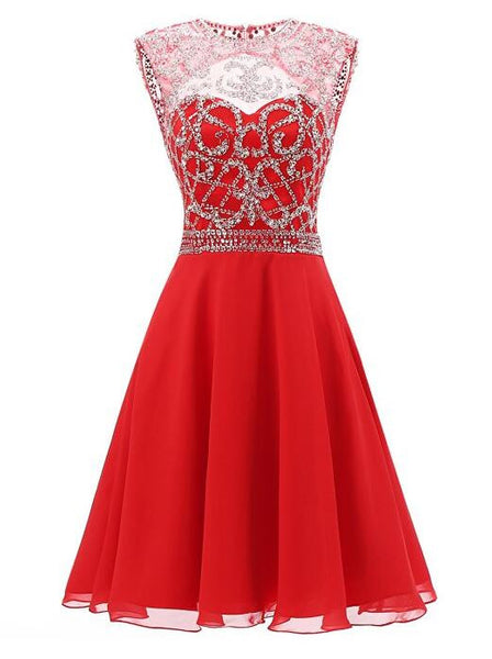 Beading Homecoming Dresses  I1088