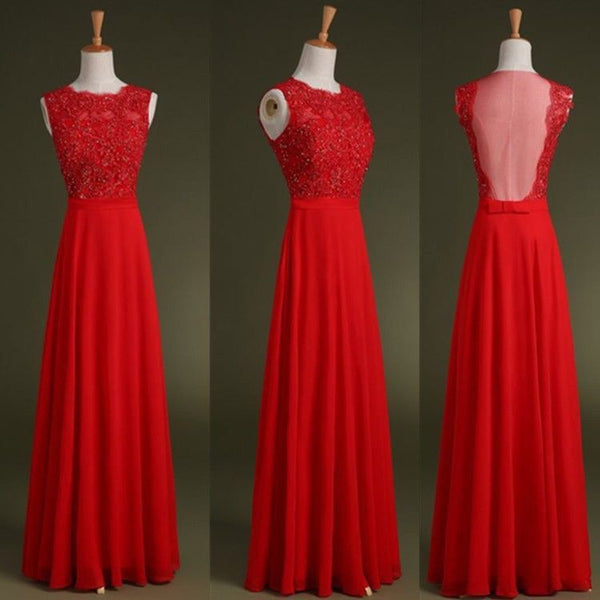 Floor Length Prom dress ,Top Beaded Evening Dress,Long Cocktail Dress