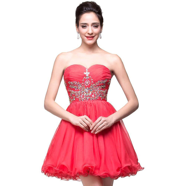 Short Prom Dress Short homecoming dress S024