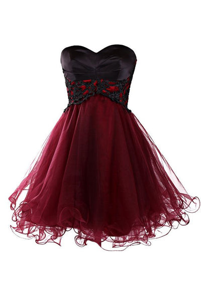 Short Prom Dress Short homecoming dress S016
