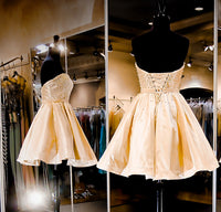 Short homecoming dress S071
