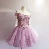 Short Prom Dress Short homecoming dress S018