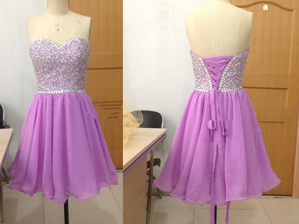 Short Prom Dress Short homecoming dress S020