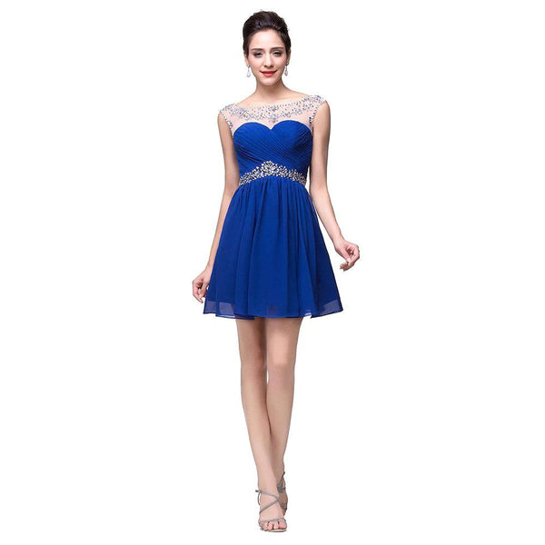 Short Prom Dress Short homecoming dress S022