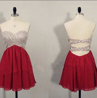 Short Prom Dress Short homecoming dress S004