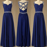 Beaded Floor Length Prom Dress I100
