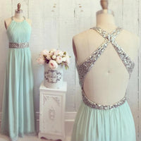 Beaded Floor Length Prom Dress I101