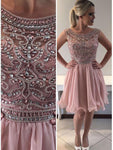 Fashion Beaded Homecoming Dress Short Graduation Dresses Dance Dress Sweet 16 Dress SW120
