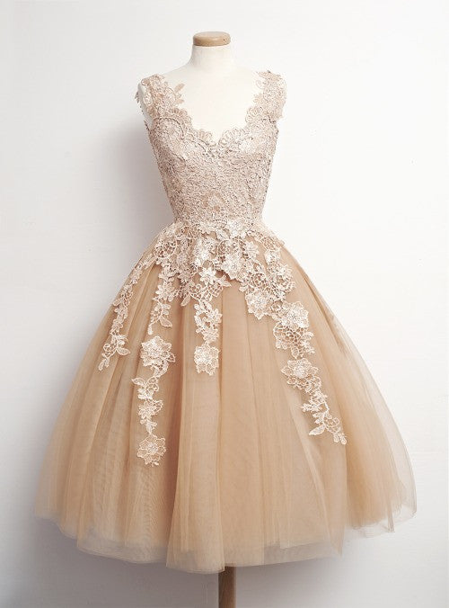 Short Homecoming Dress Wedding Party Dress SP1061