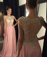 Beading Prom Dresses Long Formal Dress  SP1068