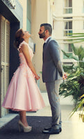 Short Homecoming Dress Wedding Party Dress SP1077
