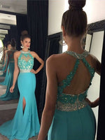 Beading Prom Dresses Long Formal Dress  SP1087