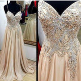 Beading Prom Dresses Long Formal Dress  SP1090