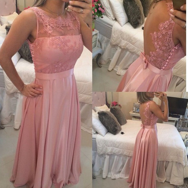 Applique Prom Dresses Long Formal Dress  SP1110