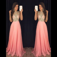 Beading Prom Dresses,Long Formal Dress SP1142