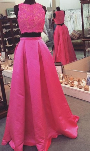 Fashion Tow Pieces Prom Dress , Long Formal Dress SP2067