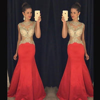 Fashion Beading Prom Dresses, Sex Long Party Dress SP3024