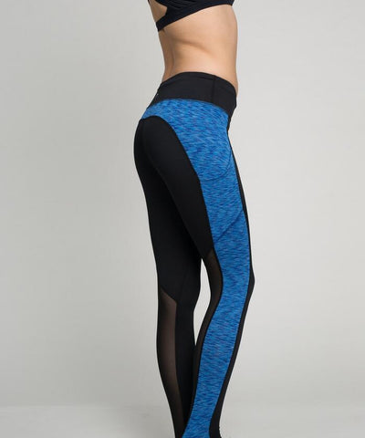 2 tone full length yoga pants