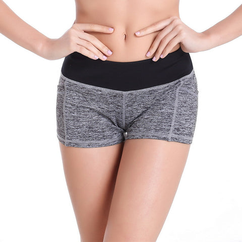 Classic Yoga Shorts With Pocket