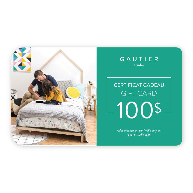 Gautier Studio $100 gift card - Design Furniture & Accessories