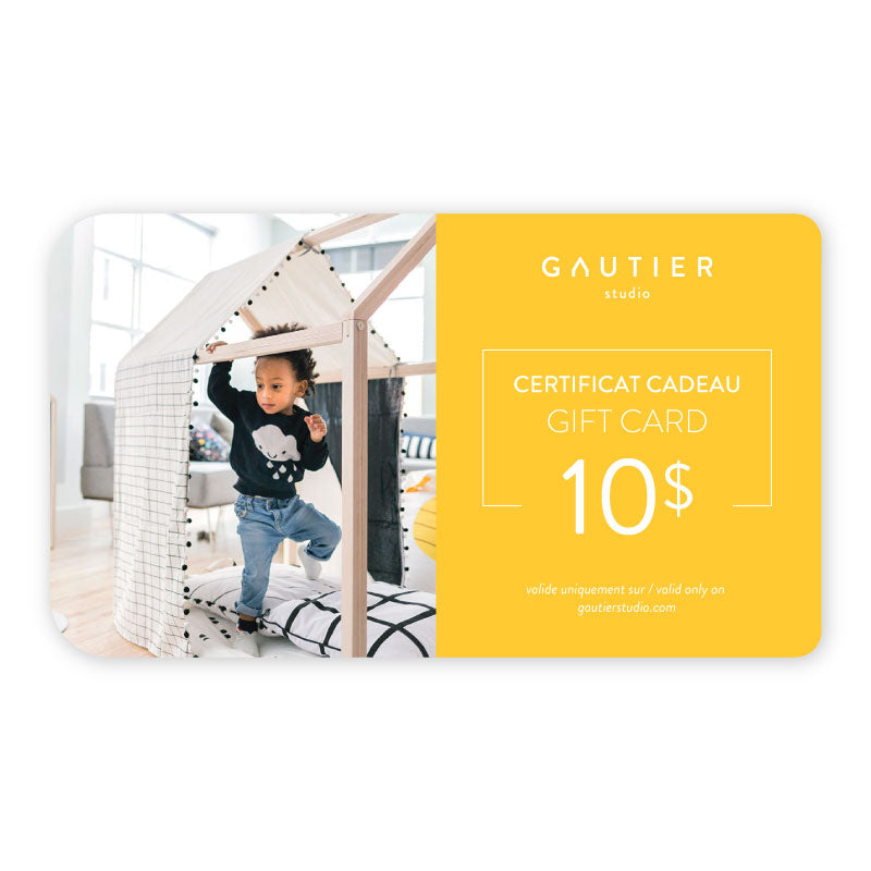 Gautier Studio $10 gift card - Design Furniture & Accessories