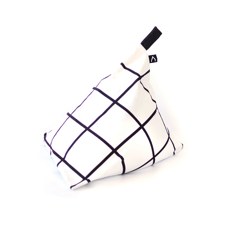FIESTA Black & White Beanbag Chair, by Gautier Studio