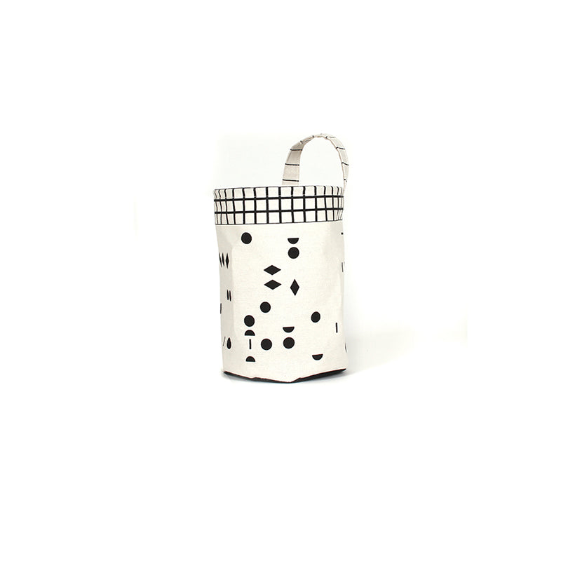 OLÉ Storage Basket with Black Dots, by Gautier Studio
