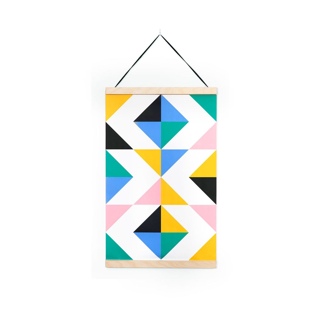 TRIANGLE Canvas Wall Hanging