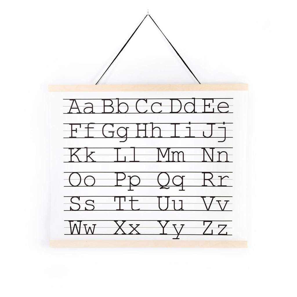 ABC Canvas Wall Hanging, by Gautier Studio