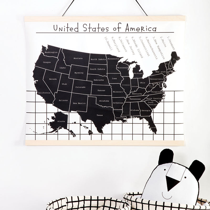 USA Decorative Wall Hanging - Gautier Studio