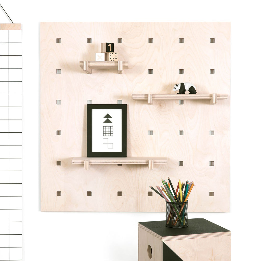 CARAMBA Pegboard - Natural Wood, by Gautier Studio
