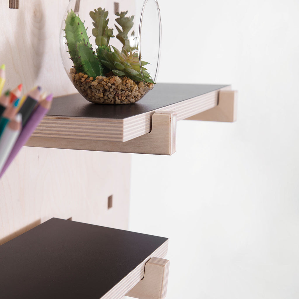CARAMBINA Black Shelves