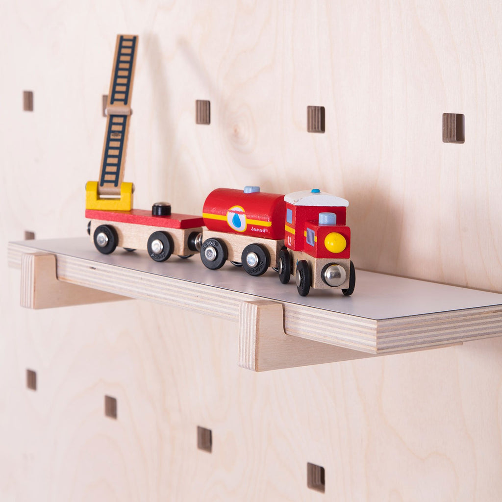 CARAMBINA Shelves - Natural Wood, white, by Gautier Studio