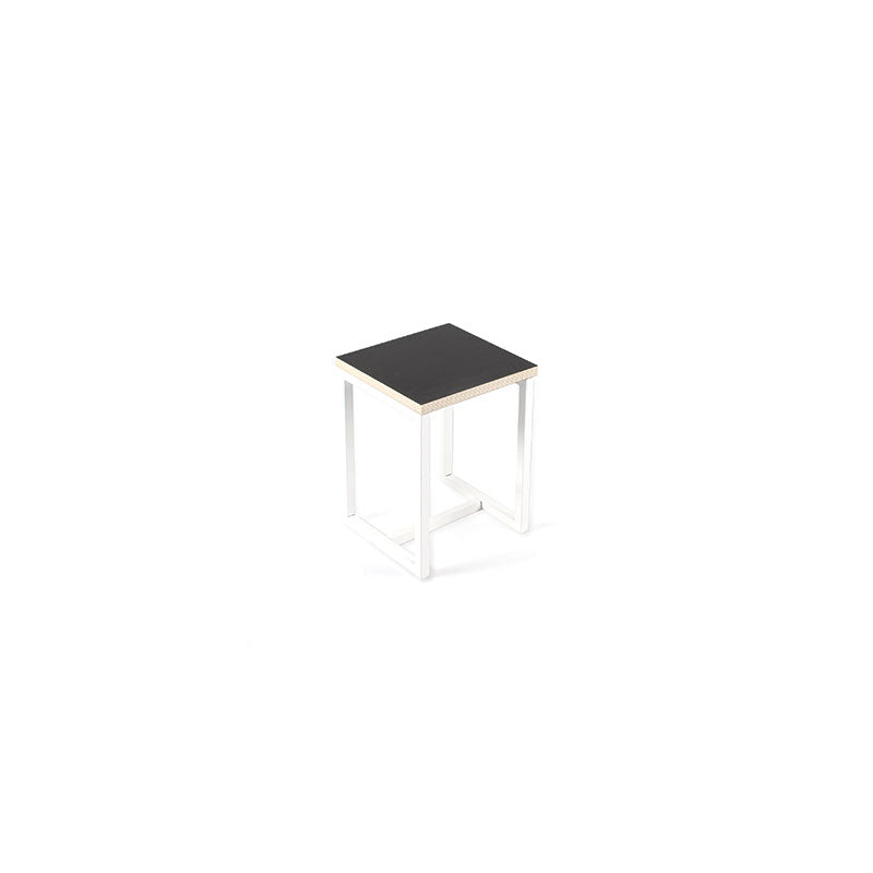 Black NOUGA Stool, by Gautier Studio