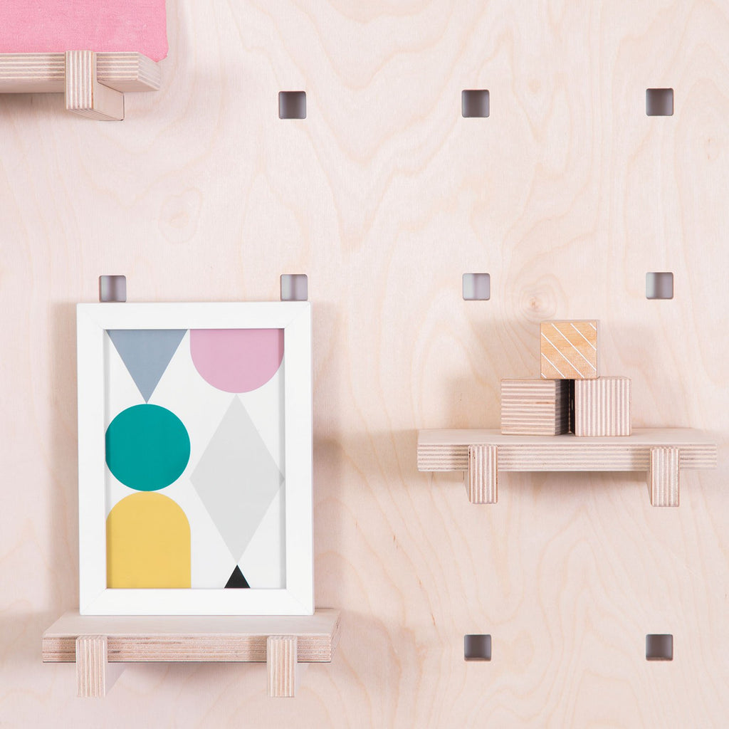 WINNY Mini Shelves - Natural Wood, by Gautier Studio