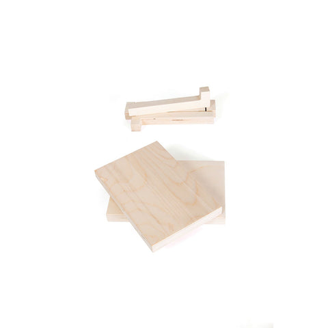 WINNY Mini Pegboards - Natural (set of 2)