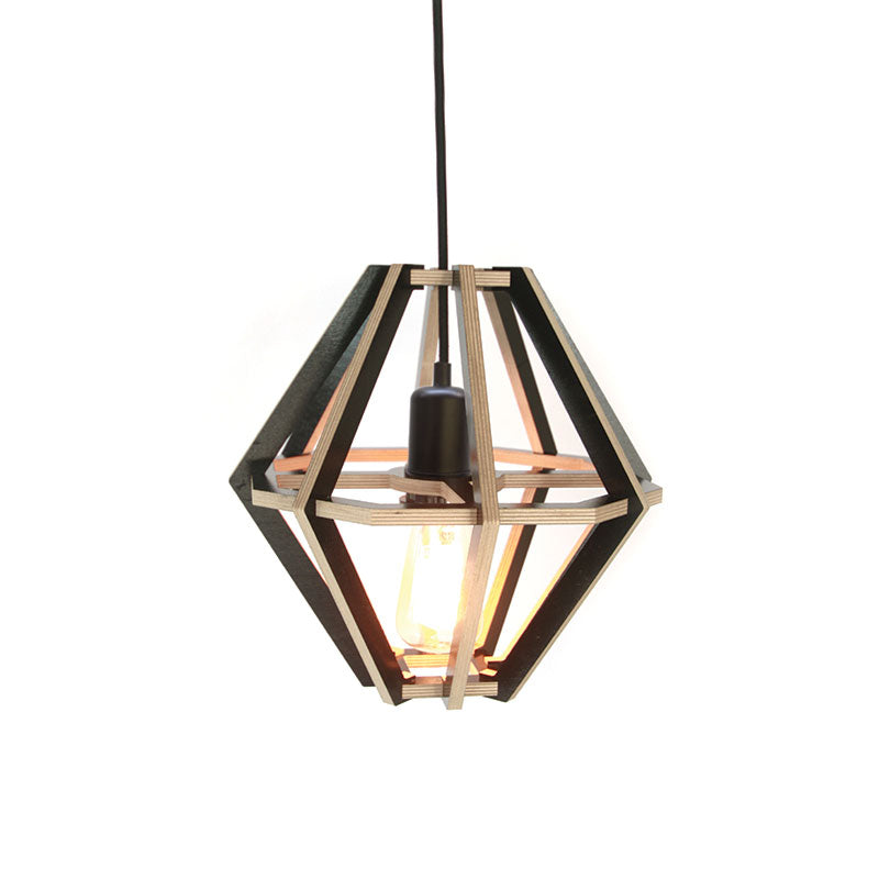 Diamond Lampshade - Black