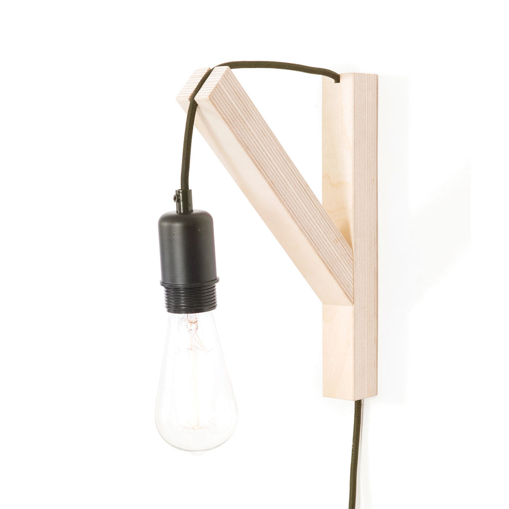 LUX Cord Support - Natural Wood, by Gautier Studio