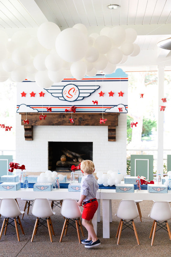 Customer Spotlight - Airplane Themed 4th Birthday