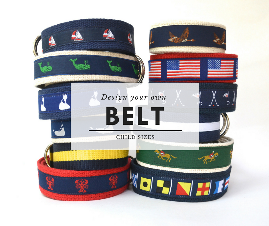 Design Your Own Belts