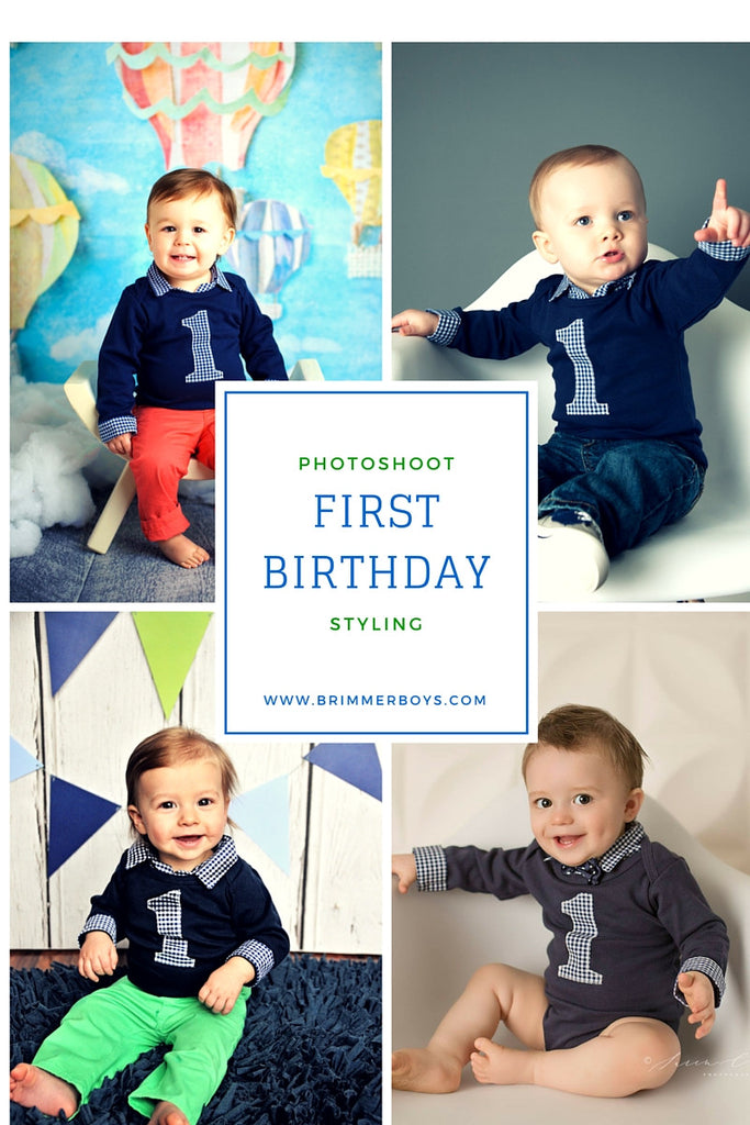 How to Style a First Birthday Photoshoot