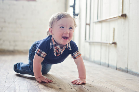 baby boy madras shirt