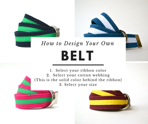 child ribbon belt