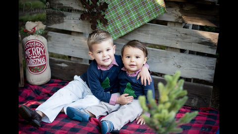 two brothers christmas card