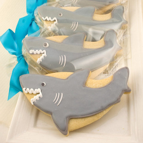 shark sugar cookies
