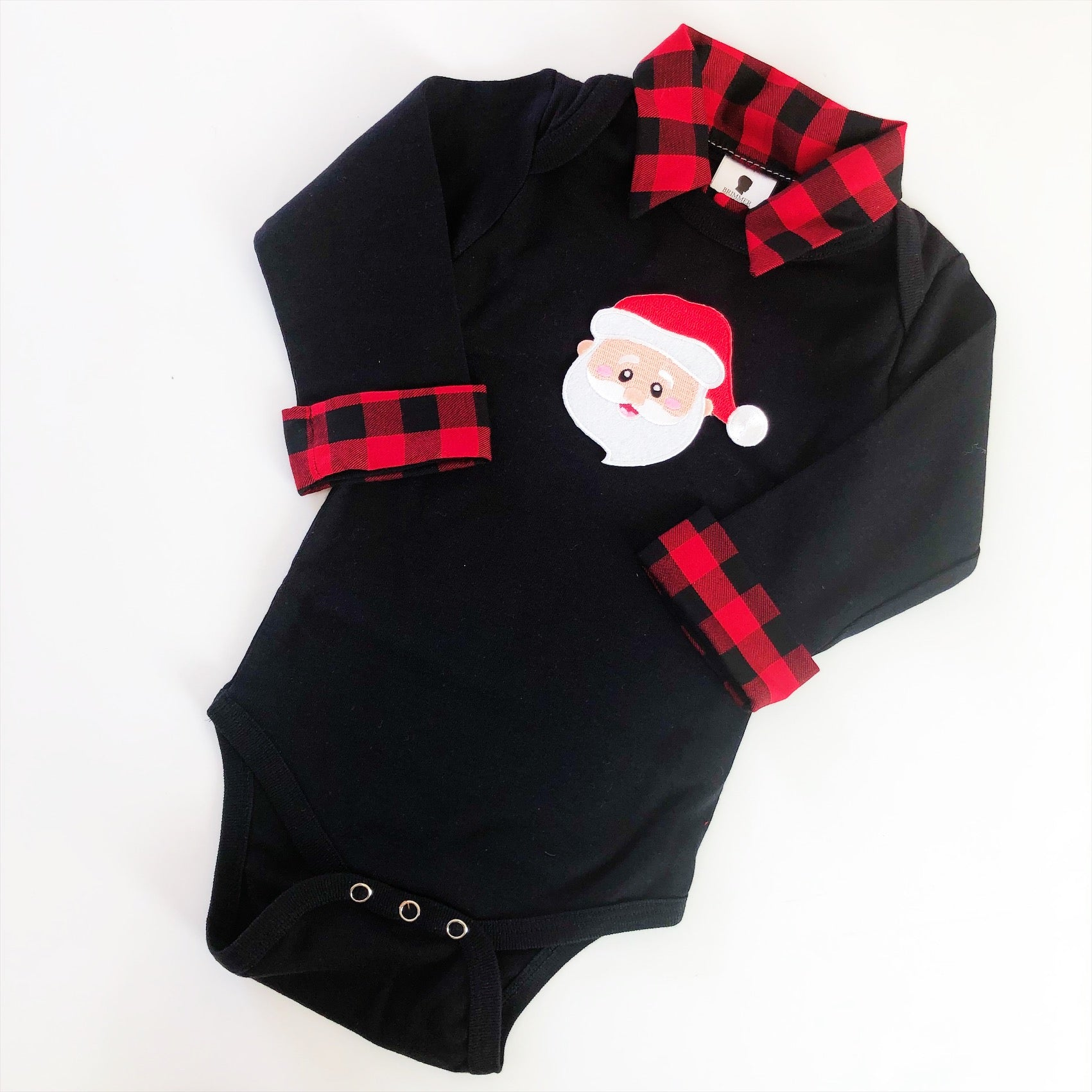 Santa Christmas Outfit - Baby Boy Christmas Outfit