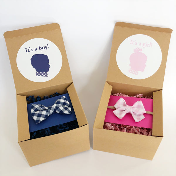 Gender Reveal: Bow or Bow Tie
