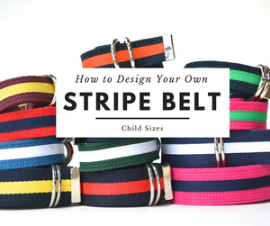 Design Your Own Stripe Belt