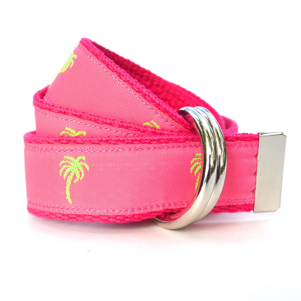 Child Palm Tree Belt - Pink
