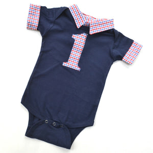 Baby boy birthday outfit
